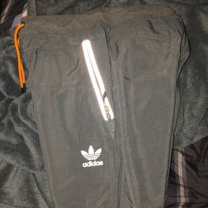 Men's Originals Adidas Grey Reflective Joggers